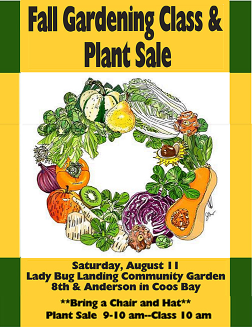 Fall Garden Class and Sale